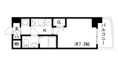 ONE-D HOUSE 201の間取